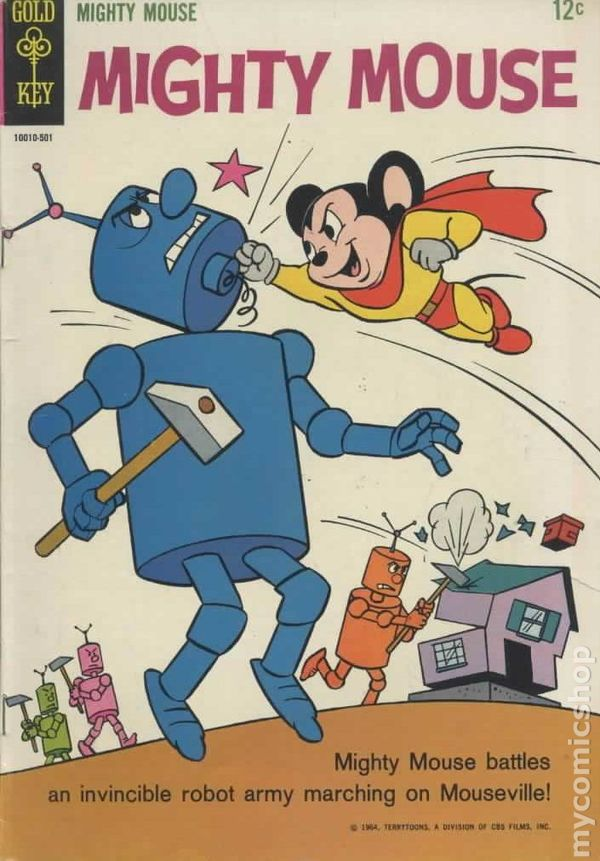 Image result for mighty mouse comic book