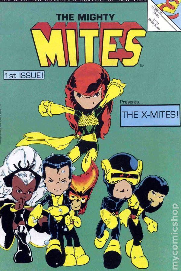 Mighty Mites 1986 1st Series Eternity Comic Books