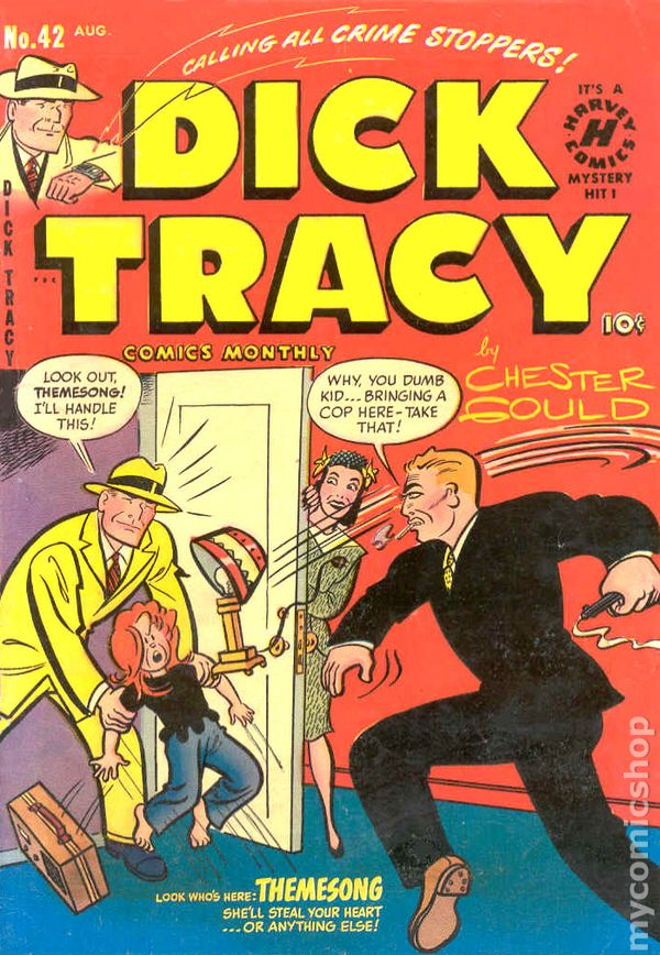 Captain dick tracey