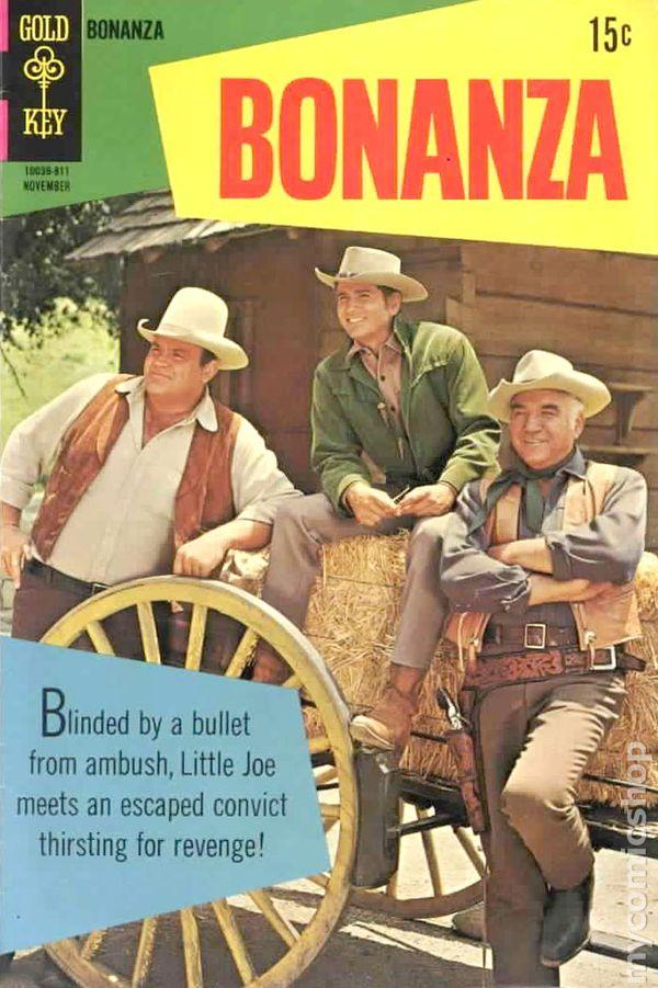 Bonanza (1962) comic books
