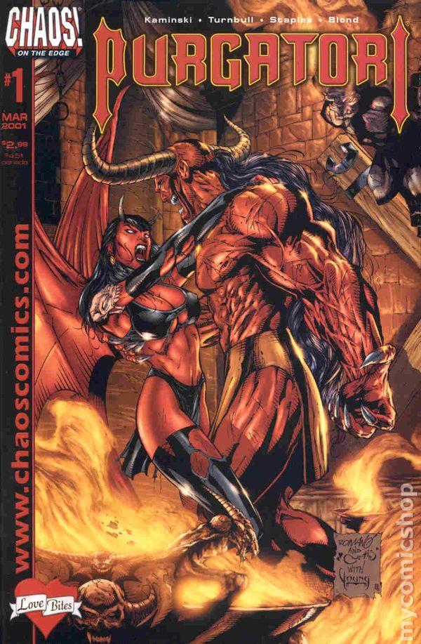Purgatori Love Bites (2001) comic books