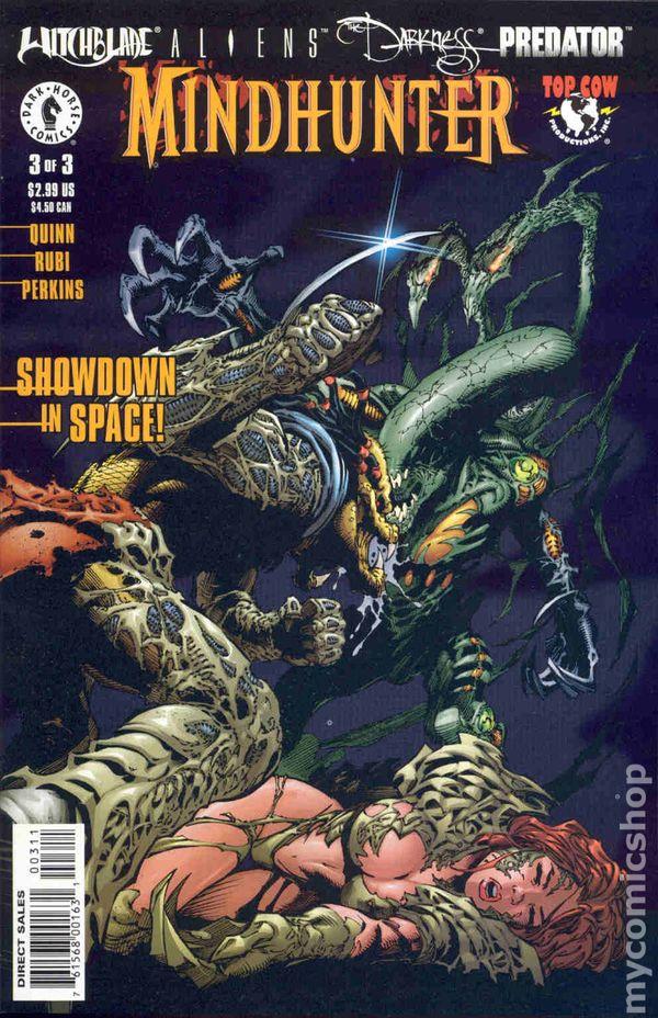 Witchblade Aliens Darkness Predator Mindhunter 2000