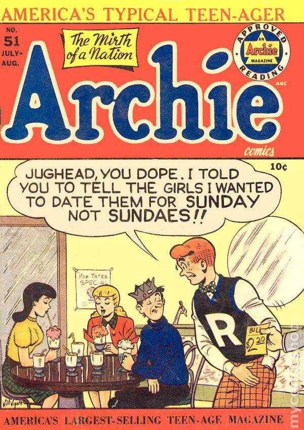 Vintage Comic Books On Pinterest Archie