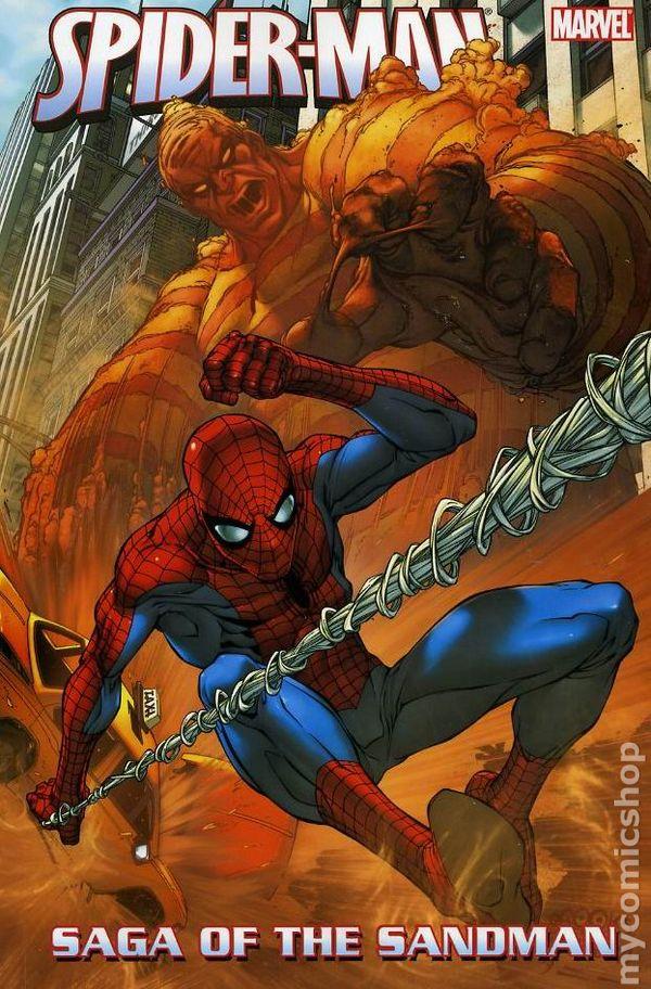 Spider-Man Saga of the Sandman TPB (2007 Marvel) comic books