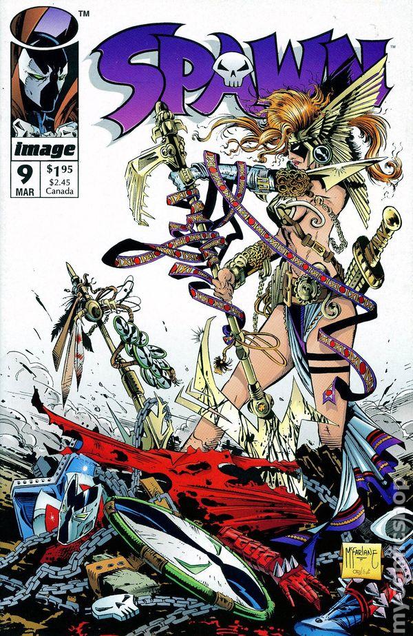 Newsstand Edition Image Comics 1993 VF//NM 1st Print SPAWN #12