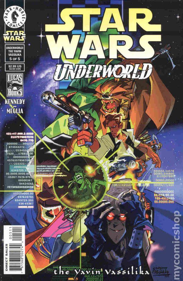 Star Wars Book Cover Art : Star wars underworld art cover comic books