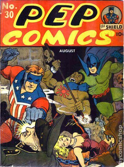 Pep Comics (1940