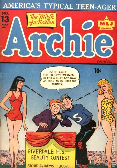 Archie 1943 Comic Books
