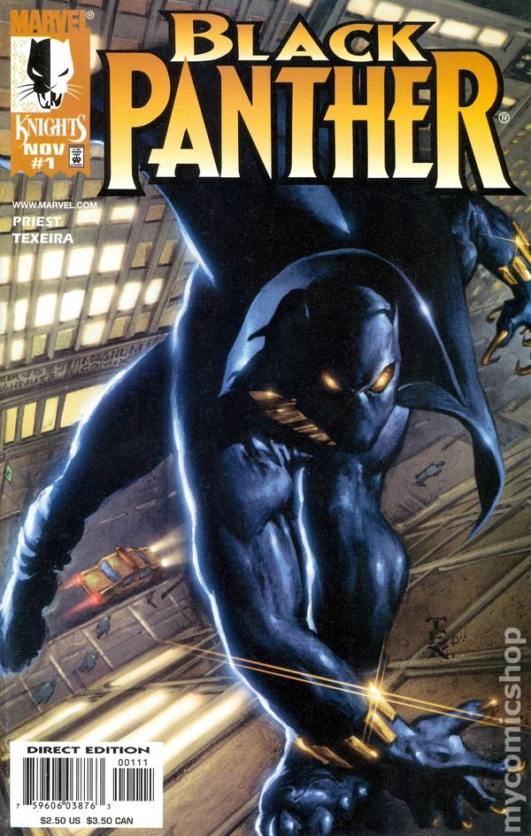 black panther  1998 marvel 2nd series  comic books