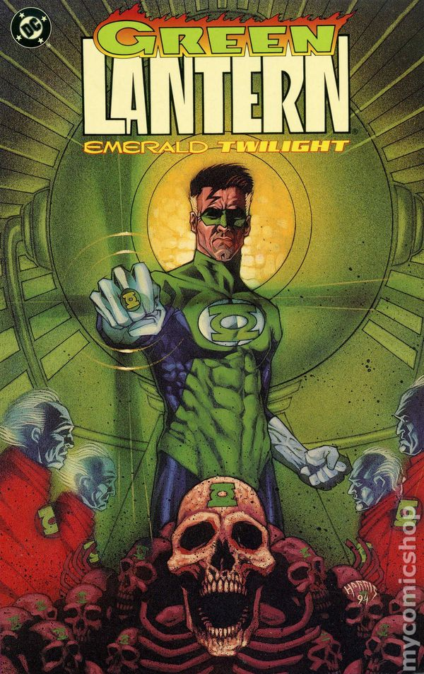 Image result for Green Lantern: Emerald Twilight
