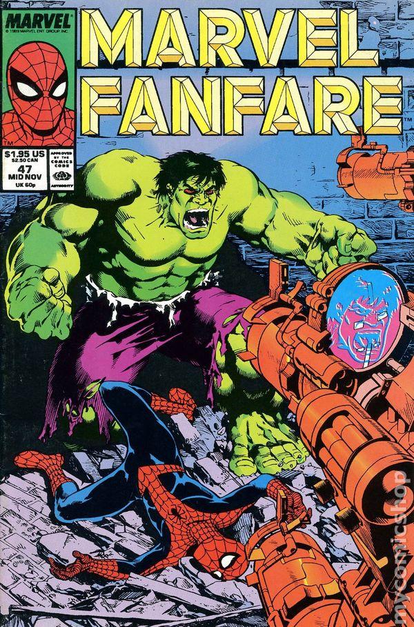 Marvel Fanfare #1 VF 1982 Stock Image