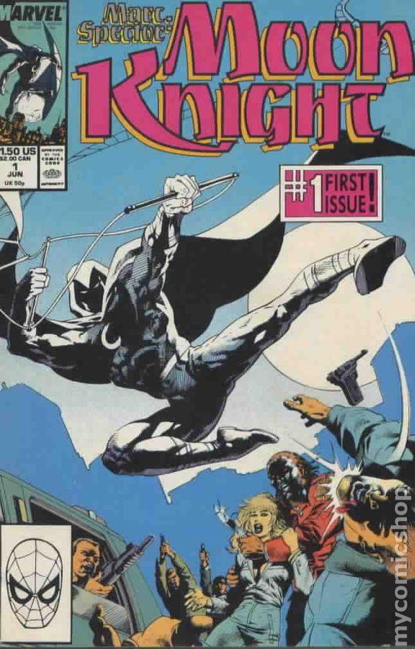 1st SERIES 1989 MARC SPECTOR MOON KNIGHT #33 NEAR MINT