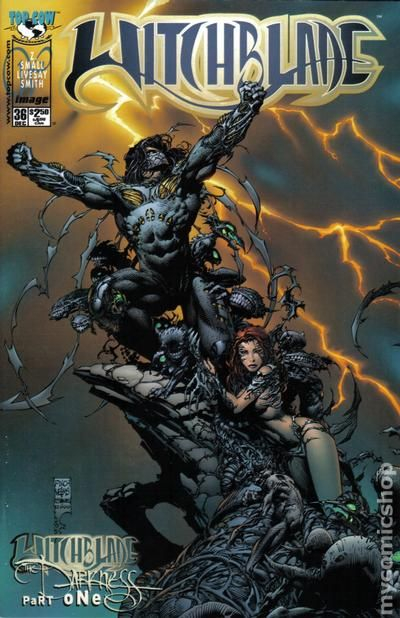 Comic books in 'Witchblade/Darkness Crossover'