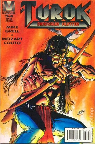 Turok Dinosaur Hunter (1993) comic books