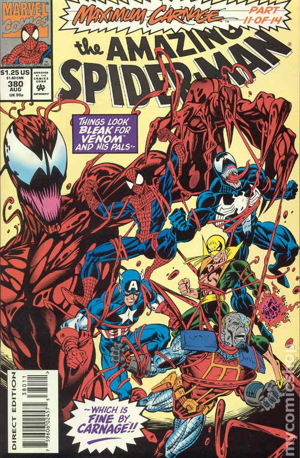 Comic Books In Maximum Carnage