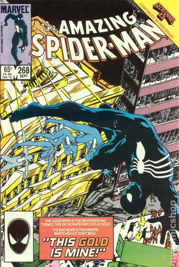 amazing spider man 1st series comic books issue 268