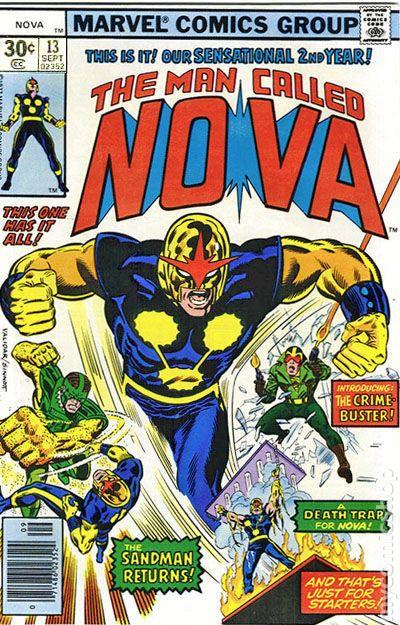 Nova #11 FN 6.0 1977 Stock Image