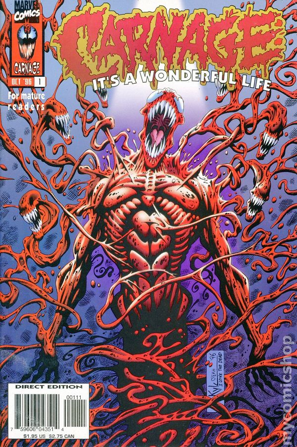 Carnage comic books issue 1