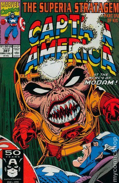 Captain America (v1) #387 Cover