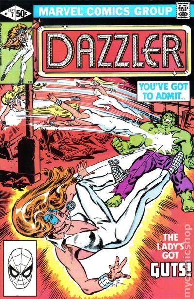 Dazzler #22 FN 1982 Stock Image