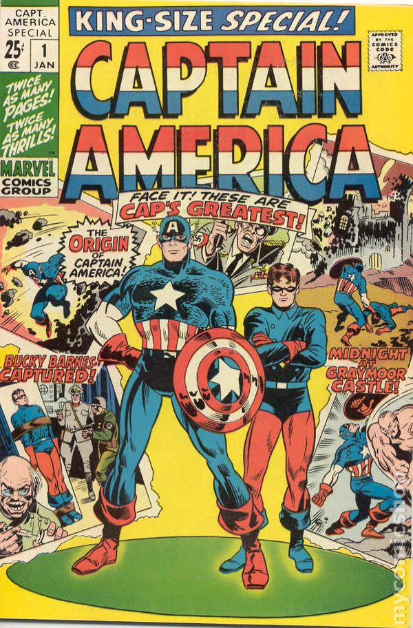 Captain America Comic Book
