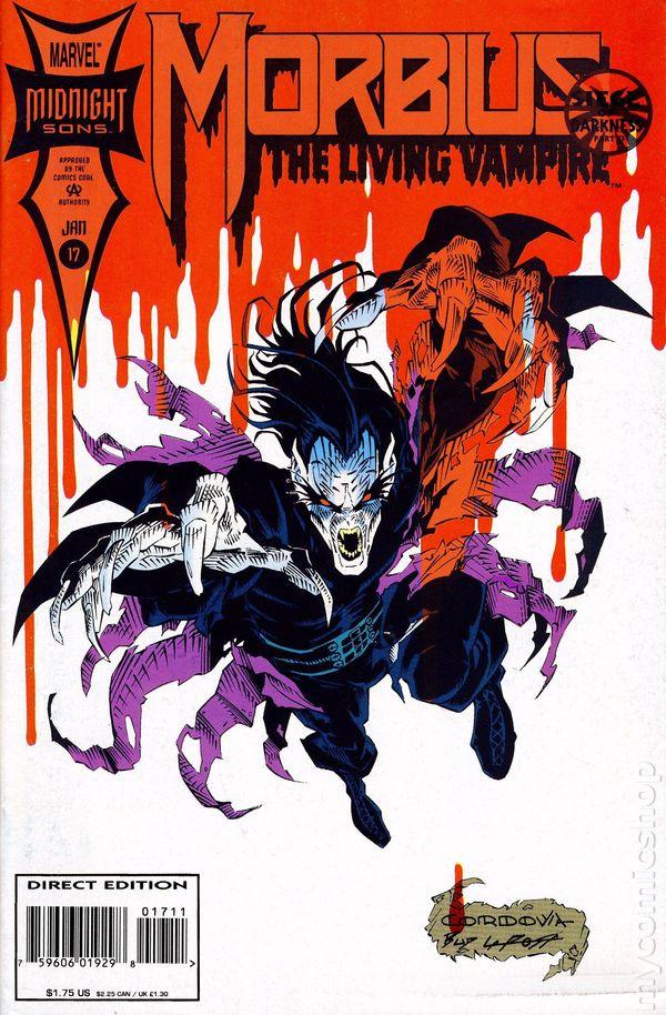 1994 Pat Mills Tony Skinner /& Nick Napolitano Morbius The Living Vampire No.24