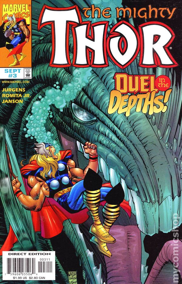 The Mighty Thor #8 Variant Edition Marvel Comics CB9862