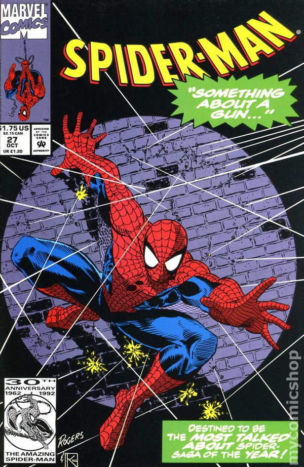 spiderman 1990 comic books