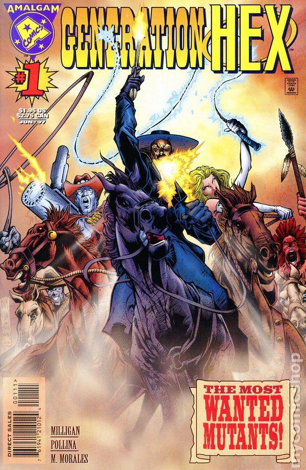 Comic Books In 'Amalgam DC Marvel Crossovers