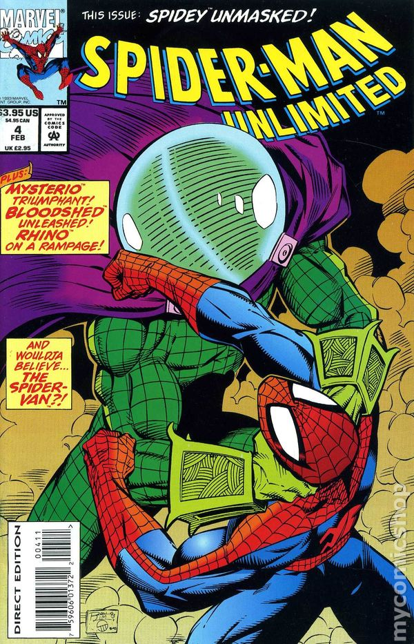 Spider Man Unlimited 1993 1st Series Comic Books