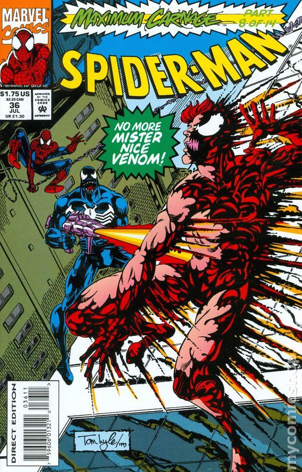 Comic Books In Maximum Carnage