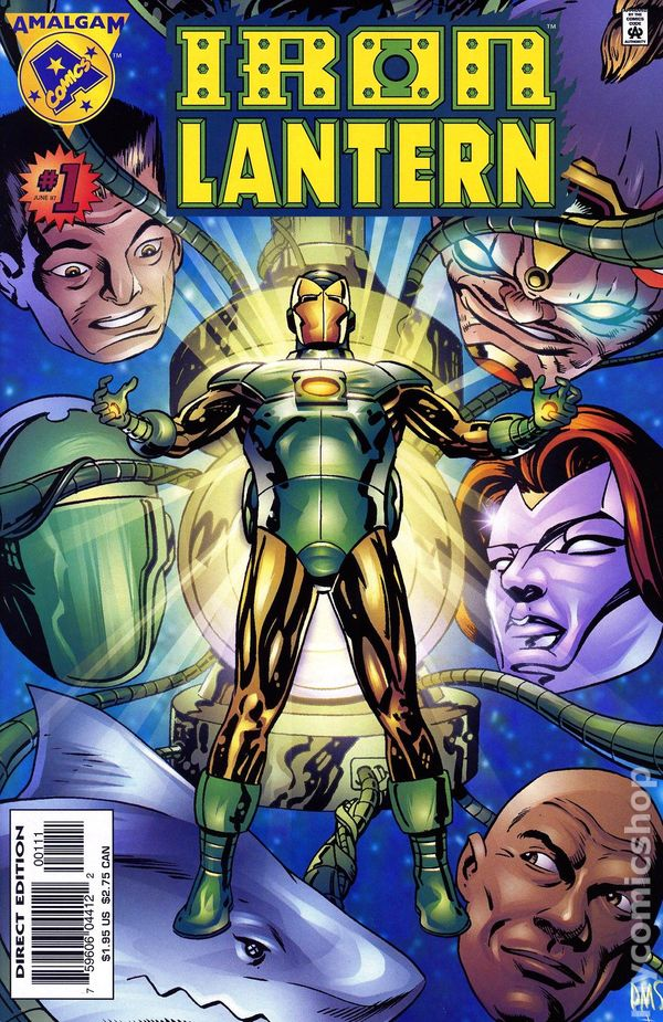 Iron Lantern 1997 Comic Books