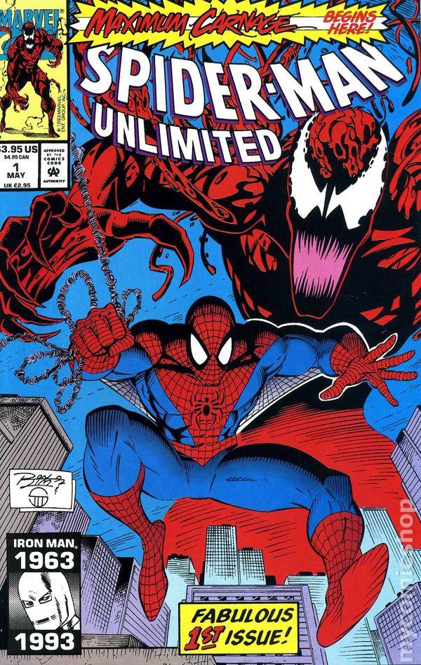 Marvel Comics! - NM!! MAXIMUM CARNAGE! WEB OF SPIDER-MAN #102