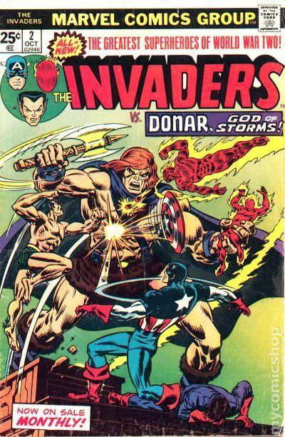 Invaders 1975 Marvel 1st Series 2
