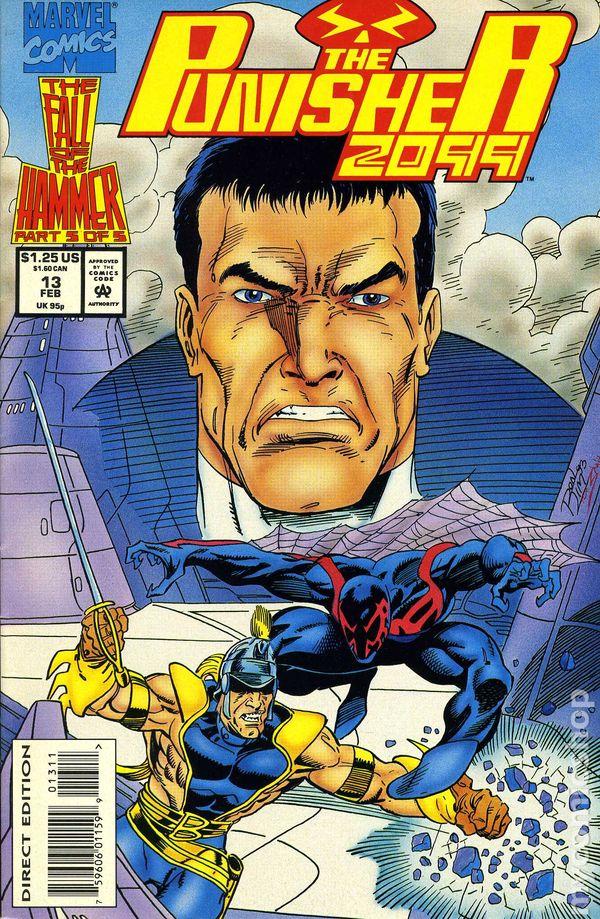 Punisher 2099 # 3 near mint 1993 series comic book