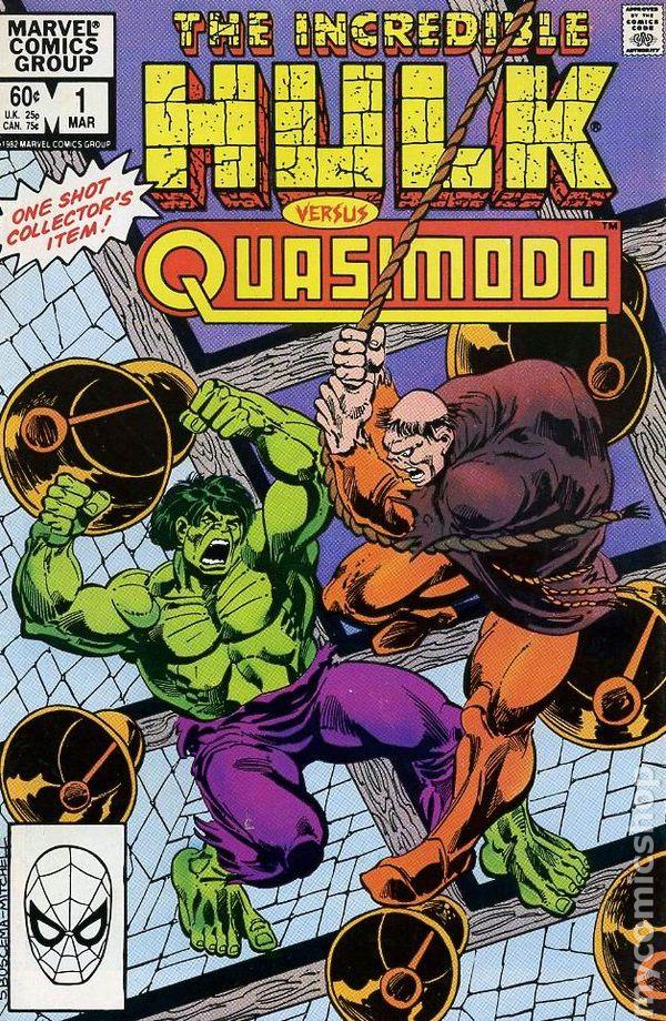 incredible hulk vs quasimodo 1983 marvel comic books