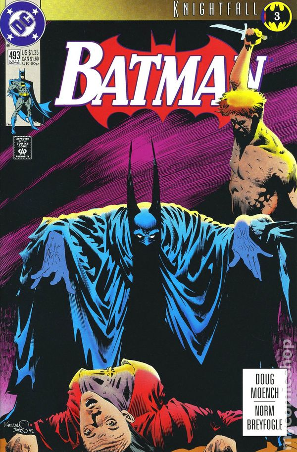 Comic books in 'Batman Knightfall'