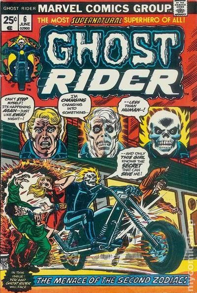 NM+ Nov 1980, Marvel Ghost Rider #50