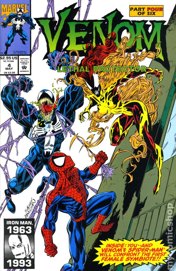 Venom Lethal Protector #1 Marvel Comic 1993 Special CGC Label 9.6 NM+