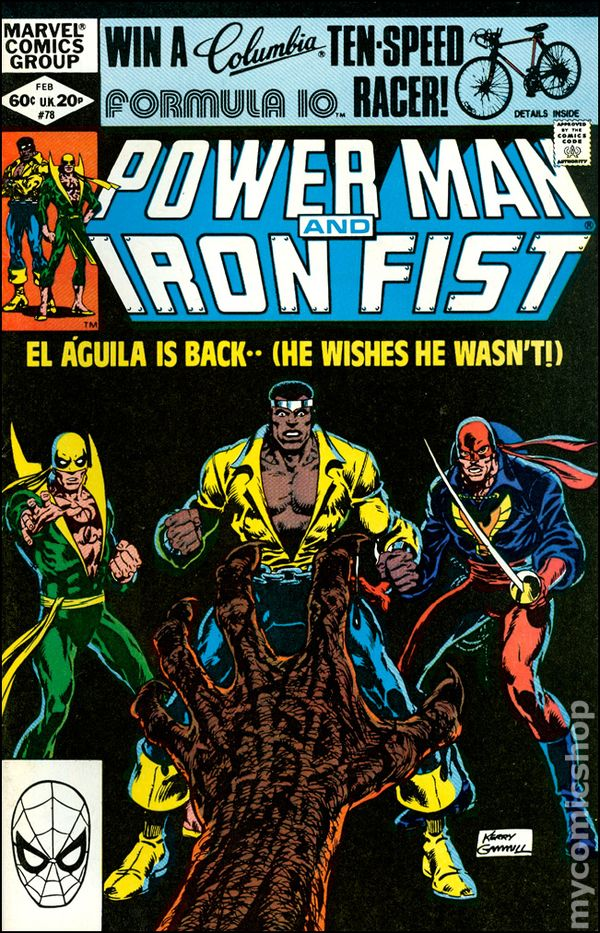 Power Man and Iron Fist #64 FN 6.0 1980 Stock Image