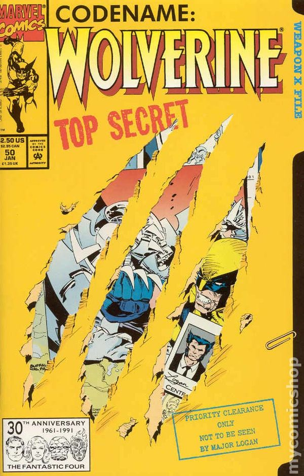 Resultado de imagem para wolverine 1988 # 50