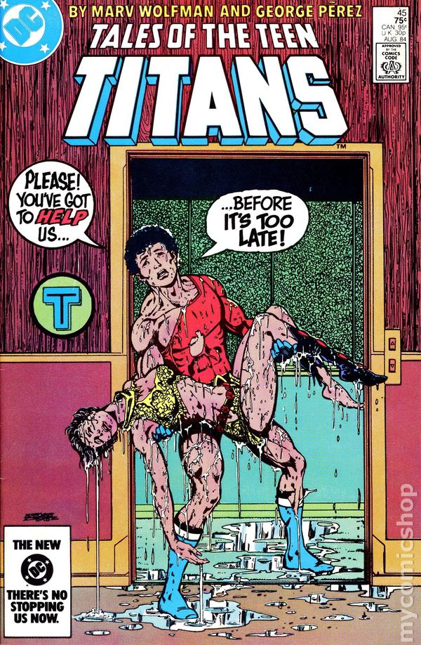 Pity, Tales of the teen titans