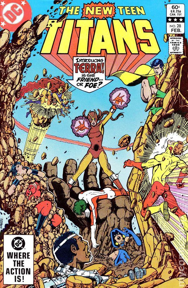 New Teen Titans (1980) (Tales of ...) 28