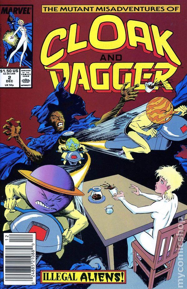 Cloak And Dagger 1988 Marvel 3rd Series Comic Books
