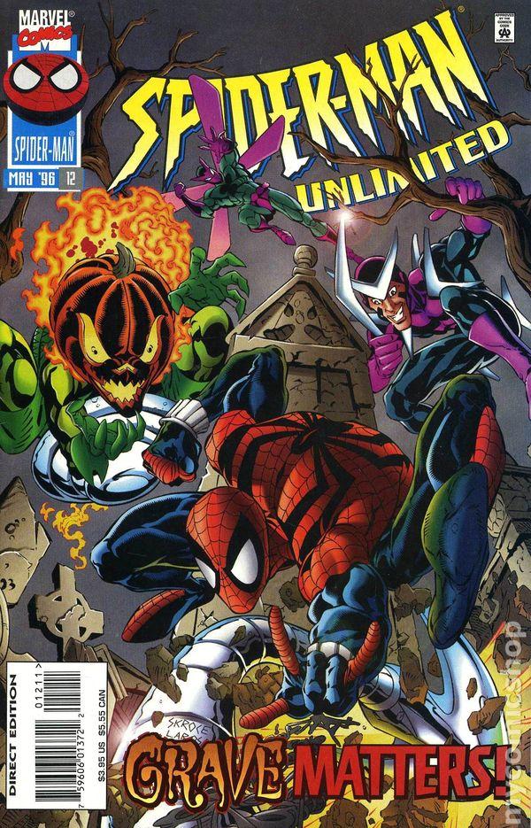 Man Unlimited # 20 US TOP Marvel Comics Spider