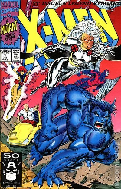X Men 2 Comic X-Men (1991 1st Series...