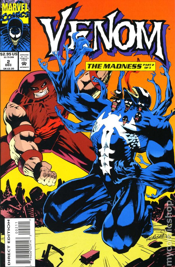 1993 PRICED PER COMIC Venom The Madness U-PICK ONE #1,2 or 3 Marvel