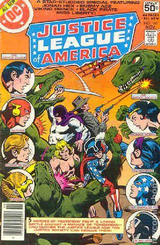 comic books in jlajsa crossovers