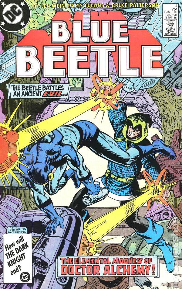 Blue Beetle #1 FN 6.0 1986 Stock Image