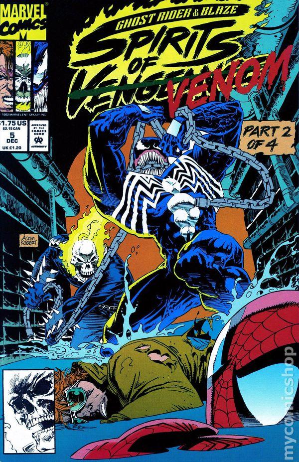 comic books in spirits of venom